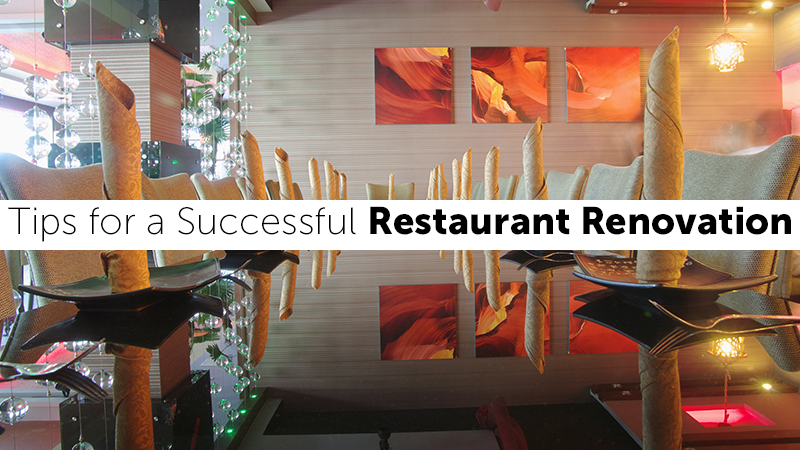 Tips for a Successful Restaurant Renovation